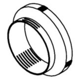 Modular Dispensing Systems 1905844 Black Clamp Ring For Simpli-Flex