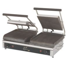 "Star® Mfg. Grill Express™ 20"" Iron Grooved Grill"