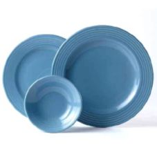 "Steelite B073P325 Anfora Tiffany Blue Lagoon 6-1/4"" Saucer - 24 / CS"