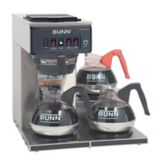 BUNN® 12950.0112 Automatic Coffee Brewer with 3L Warmers