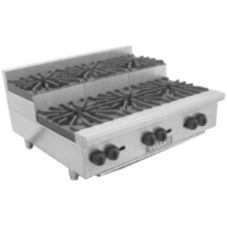 Vulcan Hart VHP636U Achiever Gas Hotplate with (6) 30,000 BTU Burners