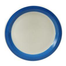 """Oneida R4128076150 Jubilee 10-3/8"""" Periwinkle Plate - 12 / CS"""