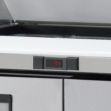 True® 831925-FI Exterior Digital Thermometer