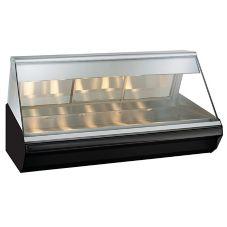 Alto-Shaam® EC2-72-BLK Halo Heat Countertop Heated Display Case