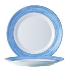 "Cardinal C3773 Arcoroc 10"" Tempered Glass Plate - 24 / CS"