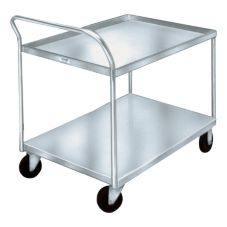 Win-Holt® WPT-2340-AL- Wet Produce Utility Cart with 2 Shelves