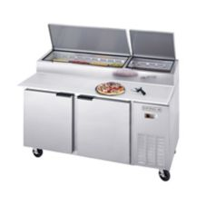 Beverage-Air® DP67 S/S 27 Cu Ft Pizza Top Refrigerated Counter