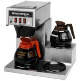 Bloomfield 8573D3 Koffee King® 3-Warmer Coffee Brewer w/ Pour Over