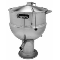 Groen™ PT-40 Direct Steam 40-Gallon 2/3 Jacketed Kettle