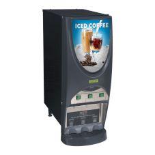 BUNN® 38600.0006 iMIX® Iced Coffee Dispenser with 3 Hoppers