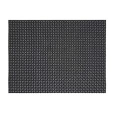 "FOH XPM035BKV83 16"" x 12"" Basketweave Placemat - 12 / CS"