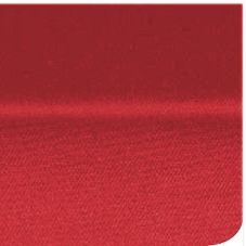 "Marko® 53781717NM001 SoftWeave™ 17"" x 17"" Red Napkin - Dozen"