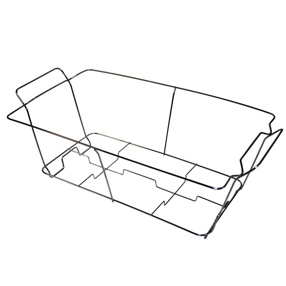 24 pk Wire Buffet Rack Chafer Warmer Stand Full Size