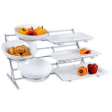 Buffet Euro 3706 Thirteen Piece Chrome Modular Rack System
