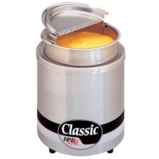 APW Wyott RW-2V-SP Classic Countertop 11 Qt Insulated Round Warmer