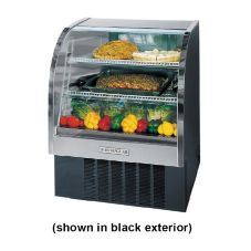 "Beverage-Air Marketeer® 37"" White Refrigerated Display Case"