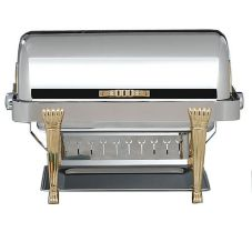 Bon Chef Elite S/S Rectangular 2 Gallon Chafer with Aurora Legs