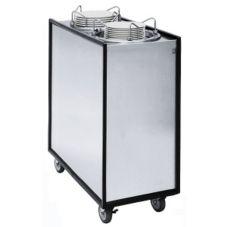 "APW Wyott ML2-12A Mobile Adjustube II® 12"" Dish Dispenser"