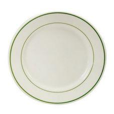 "Buffalo F1500001117 Niagara Green 6-1/4"" Round Plate - 36 / CS"