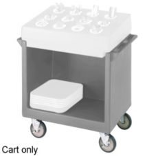 "Cambro® TDC2029180 Gray 38-1/8"" x 22-1/4"" Dish Cart Only"