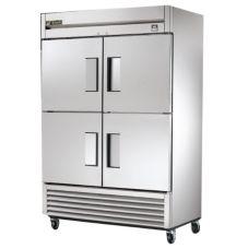 True® TS-49F-4 Reach-In 4-Half Solid Swing Door 49 Cu Ft Freezer