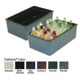 "Buffet Enhancement 1BBCS20BG 12"" x 20"" x 6"" Chefstone Beverage Display"