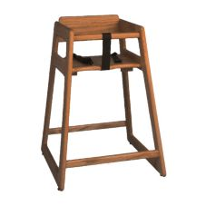 "Tomlinson 1018774 36"" H Walnut High Chair"