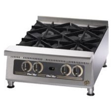 "Star® 804HA Ultra-Max® 24"" Wide Gas Hot Plate"