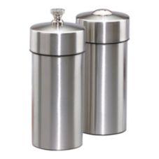 "Chef Specialties 29900 S/S 5.5"" Futura Pepper Mill / Salt Shaker Set"