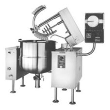Cleveland Range 125 Gallon Twin Sweep and Fold Vertical Kettle/Mixer