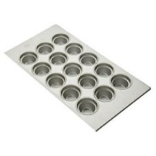 Focus Foodservice 905435 15 Large Crown Muffin Pan