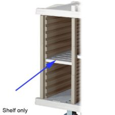 Metro® LXHK-SS Side Storage Shelf For Lodgix™ Carts