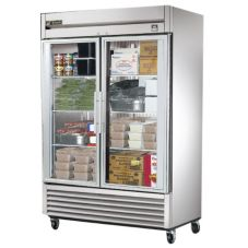 True® TS-49FG Reach-In Glass Swing Door 49 Cu Ft Freezer
