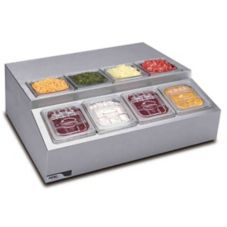 APW Wyott RTR-8 S/S Countertop Refrigerated Condiment Dispenser