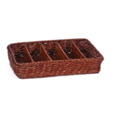 Willow Specialties 83220 5 Compartment Divided Basket