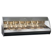 Alto-Shaam HN2-96-C Halo Heat Self-Serve Two-Door Deli Display Case