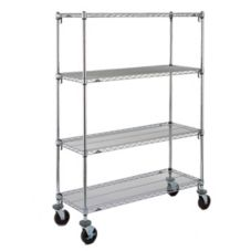 Metro 18 x 36 x 69 Super Adjustable Erecta Stem Caster Cart