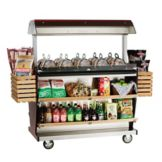 Alto-Shaam ITM2-48/DLX Deluxe Island Hot Food Takeout Merchandiser