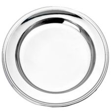 "Eastern Tabletop 5416 16"" Round Grandeur Tray With Classic Border"