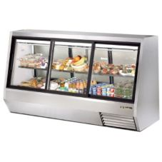 True® Pass-Thru 46 Cu Ft Deli Case w/ 2-Front and 2-Rear Doors