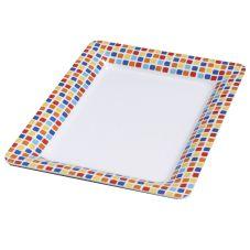 Carlisle 44417917 Designer Displayware Spanish Rectangular Platter