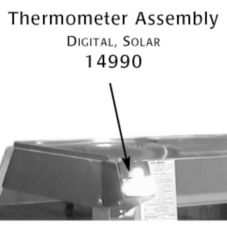 Alto-Shaam 14990 Digital Solar Thermometer Pack for CC-48 & CC-72