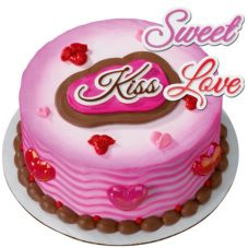 DecoPac 11555 Sweet Love Kiss Lay-on - 36 / BG