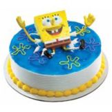 DecoPac 31638 SpongeBob SquarePants Ticklepants DecoSet - 6 / BX