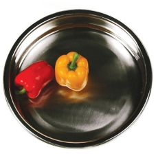 "Eastern Tabletop 1508 15-1/4"" Round 8 Qt. Chafing Dish Food Pan"