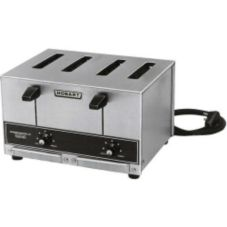Hobart ET27-6 Pop Up 4 Slice Toaster with Removable Crumb Tray