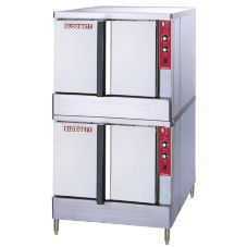 Blodgett ZEPHAIRE E D S/S Electric Convection Roll-In Double-Deck Oven