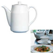 Steelite 42044336 Ronde de les Anges 26 Oz Coffee Pot - 6 / CS