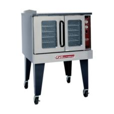 Southbend SLGS/12SC SilverStar Double Gas Convection Oven with Casters