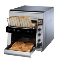 "Star® Mfg. 240V Conveyor Toaster w/ 1-1/2"" Product Opening"